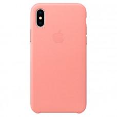 Чехол для iPhone Apple iPhone X Leather Case Soft Pink